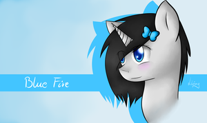 Blue Fire by TheLivingNote