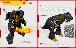 DINOBOT GRIMLOCK by F-for-feasant-design