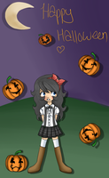 Happy Halloween ~ Falling Pumpkins by Madolche