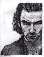 Aidan Turner as Mitchell in Being Human by SHParsons