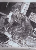The Amazing Spider-Man 2012 (pencil) by TakuaNui