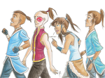 The Ponytail Club by blindbandit5