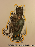 Catwoman by Fefe1414