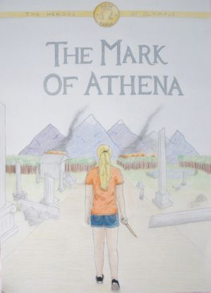 The Mark of Athena cover colour