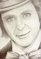 Willy Wonka - ACEO by mikegee777