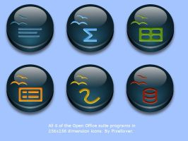 Open Office Icons by Pixellover