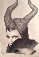 Maleficent by Fang-Vanille