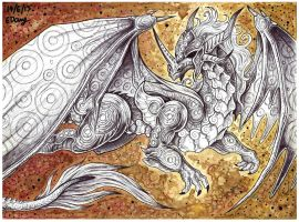 White Dragon by Ezaura