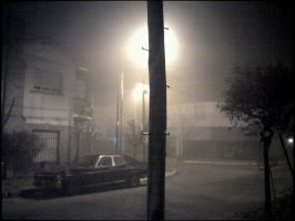 Misty Night in Buenos Aires by Furrylittleproblem12