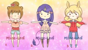 Giveaway Adopts Set {CLOSED} Winners Chosen by Minte-Leaf
