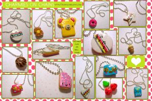 Charmies on Chain by tedsie