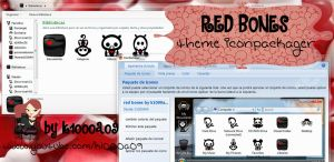 red bones theme iconpackager by k1000a09 by k1000adesign