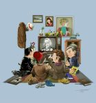 50 Years of The Doctor by angelsaquero