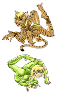 Mascot Contortion-For-All by Aldric-Cheylan