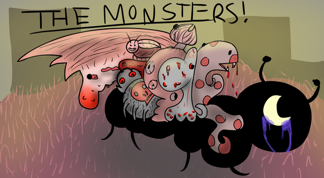The Monsters by Bluemonster140