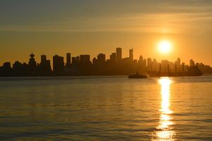 Vancouver At Sunset 2 by mc1964