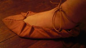Iron Age Leather Shoe by Troll-Blood