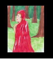 Little Red Riding Hood- water by Kif3