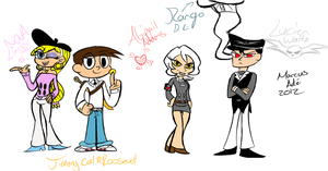 Heroes and Villians (All Redesigns) by Superion123