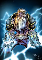 Thunderclap colored version by GravedFish