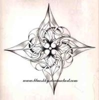 lotus flower shuriken by blueskky