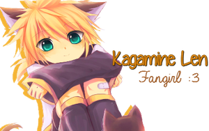Len Kagamine Fangirl~ by trixie50