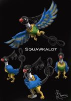 Evolution of Chatot by kanineious