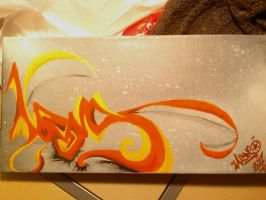 1st canvas by MadnsOne