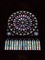 Notre Dame stained glass by Gardek