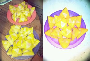 Triforce cookies by karidcha