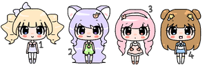 Adopables Batch 1 - OPEN by Piiuni