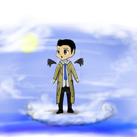 Castiel commission by froidchat