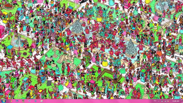 Where is Wally? by ronnieweasley