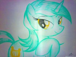 Lyra Heartstrings by BluDraconoid