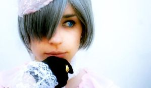 Ciel Phantomhive Closeup by BatesMotel