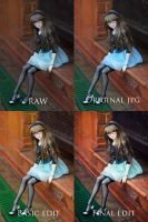 Editing - 1 by chibi-lilie
