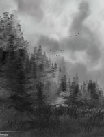 Dull Forest by Xiritis