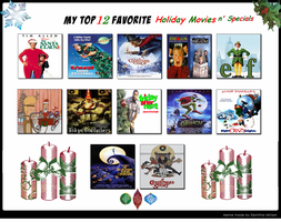 My Top 12 Fav Holiday Movies n' Specials meme by NickyVendetta