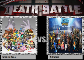 Death Battle Smash Bros vs All Stars by JakeCrusher4