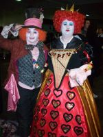 Hatter and the Red Queen by Hatters-Workshop