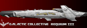 Galactic Collective ACIN-3495 Reqeium Destroyer 3 by capriceklasik