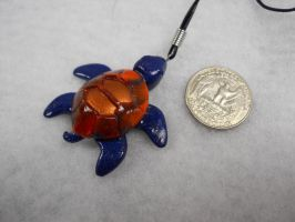 Sea Turtle Necklace by JesusArt8