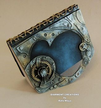 Steampunk Notebook Tech 1 by Diarment