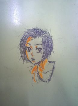 Doodling in class~ 2 by NoneKA