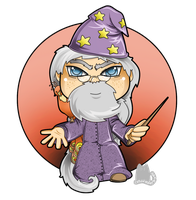 Albus Dumbledore by FloraDelaney