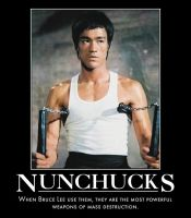 Bruce Lee Nunchucks by MexPirateRed
