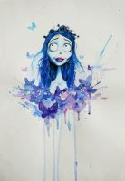Tim Burton's Corpse Bride by JuliaZombie