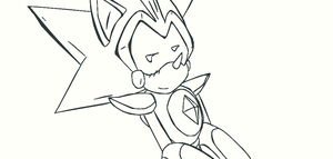 Shard doodle by Shardmetalsonic