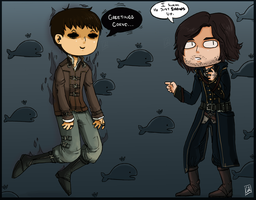 .:Dishonored:. Out of Nowhere by Clover1