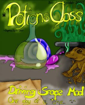 Potions Class Cover Colored by sapphire-spider